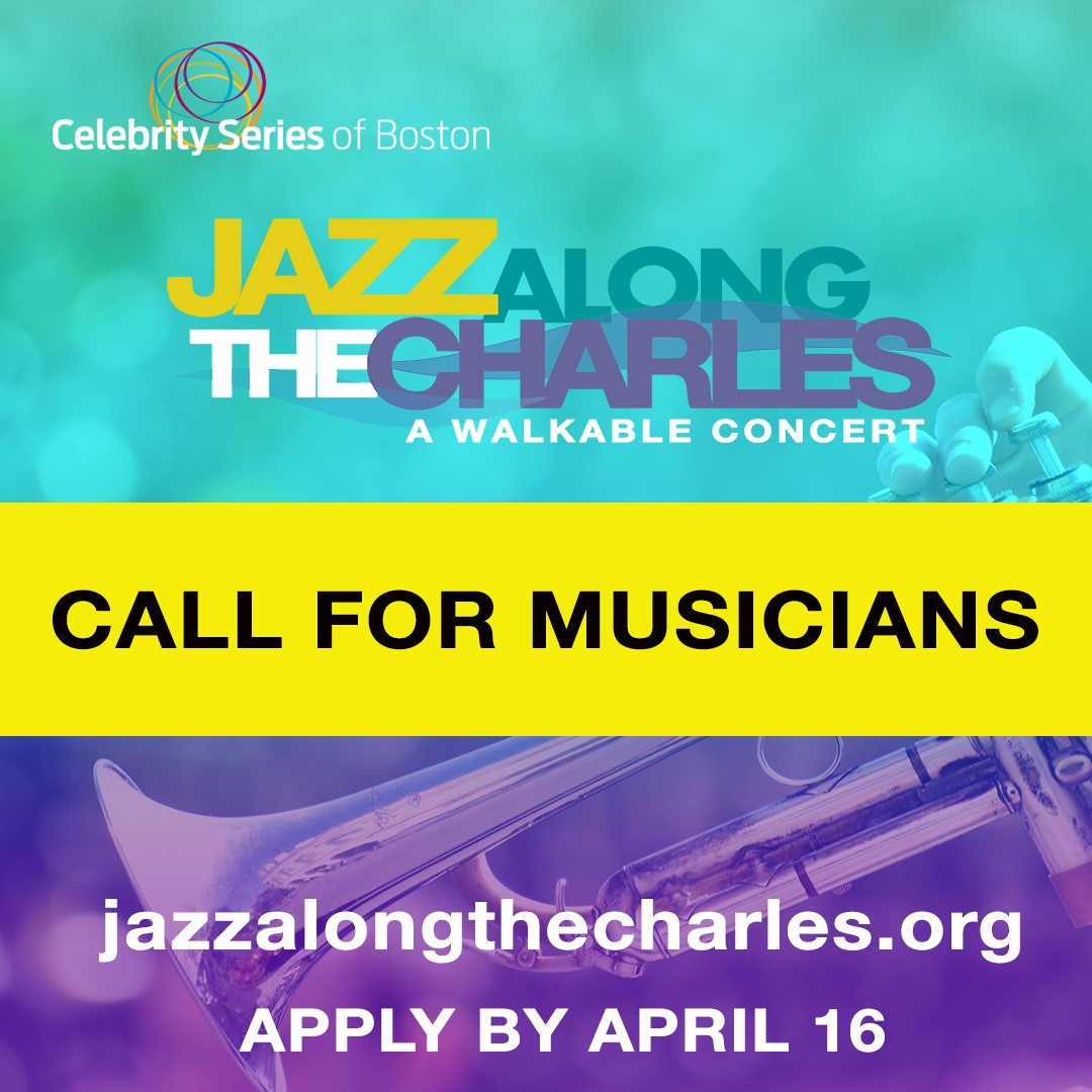 """Celebrity Series of Boston anuncia """"Jazz Along the Charles: A Walkable Concert"""""""