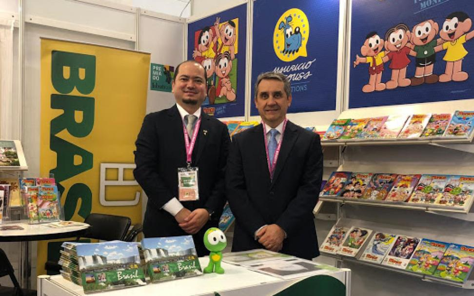 Mauricio de Sousa Produções participa da Taipei International Book Exhibition – TIBE 2019