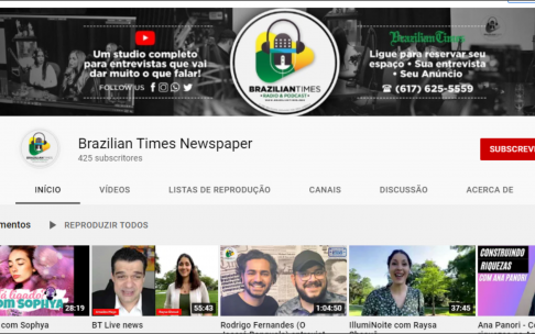 Siga o canal do BT no You Tube