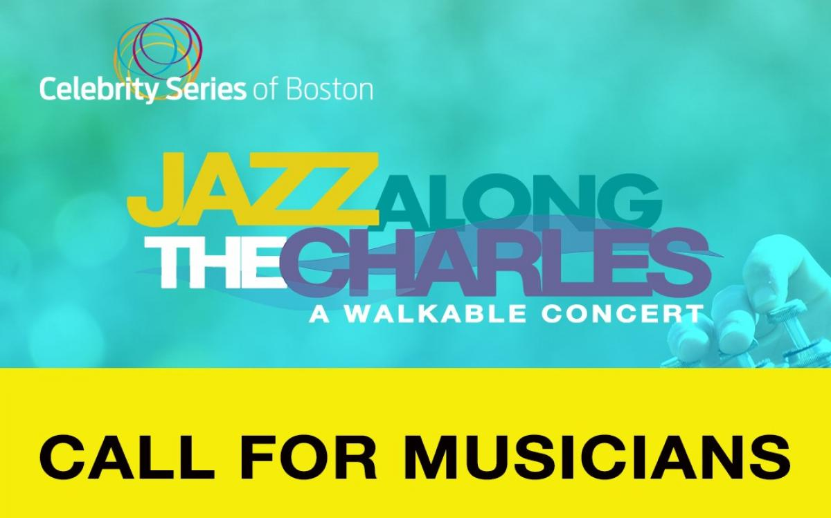 "Celebrity Series of Boston anuncia ""Jazz Along the Charles: A Walkable Concert"""