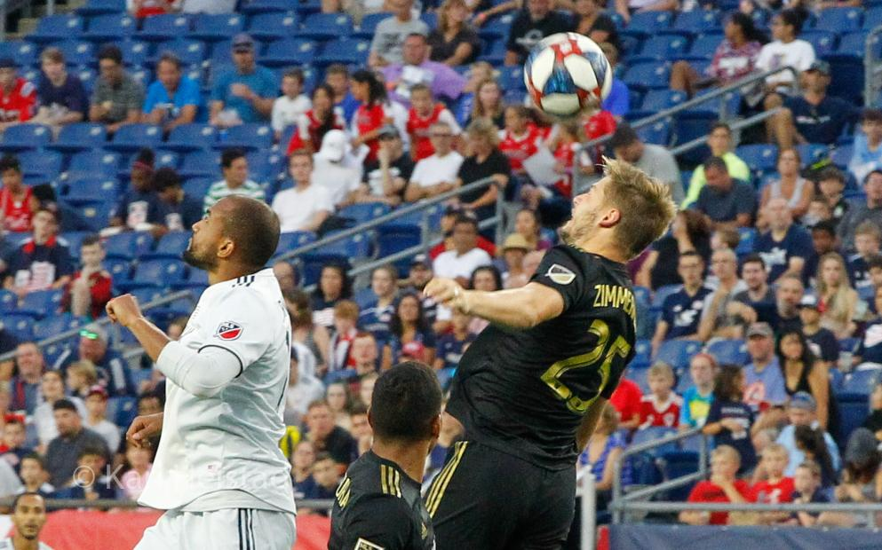LAFC interrompe invencibilidade do New England Revolution