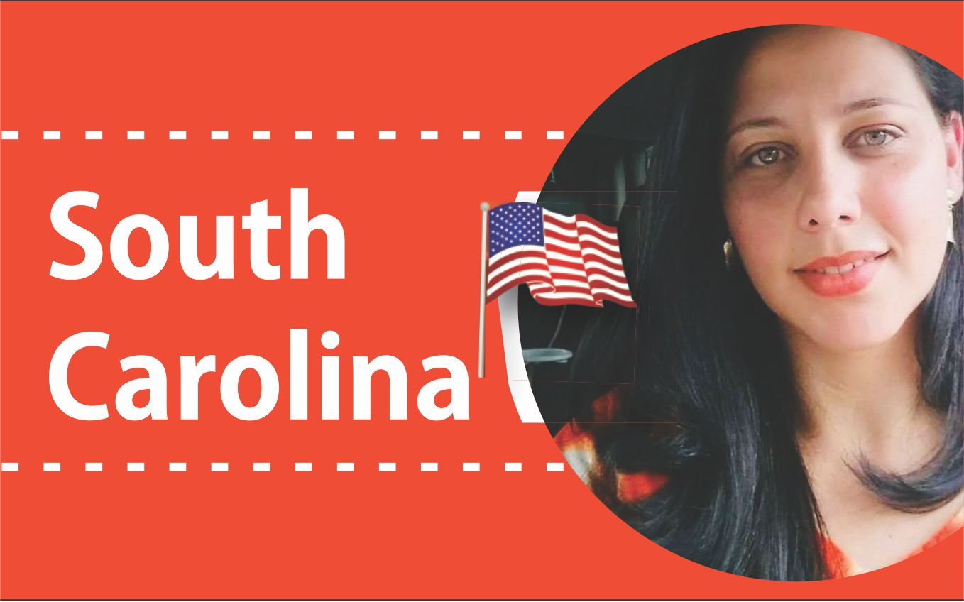 Coluna South Carolina por Lucy Rodrigues